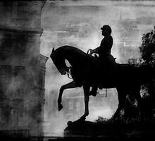 A Step Back in Time (Black & White Version) by Susan Werby