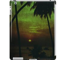 Sunset in the Tropics iPad Case/Skin