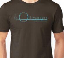 Ollivanders Logo in Blue Unisex T-Shirt