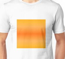 Color Gradient - Light Orange | Bright Orange Unisex T-Shirt