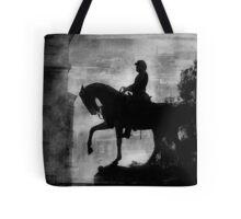 A Step Back in Time (Black & White Version) Tote Bag