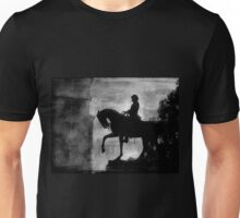 A Step Back in Time (Black & White Version) Unisex T-Shirt