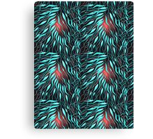 Graphic abstract pattern Canvas Print