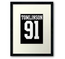 Tomlinson 91 Framed Print
