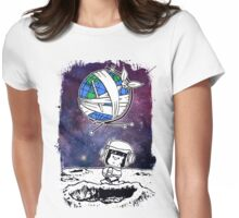 Cool Space Womens Fitted T-Shirt
