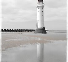 Perch Rock Isolation 5 by DavidWHughes