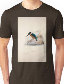 John Gould The Birds of Europe 1837 V1 V5 061 Kingfisher Unisex T-Shirt