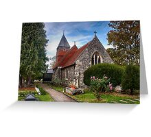 St Mary The Virgin Bulphan Greeting Card