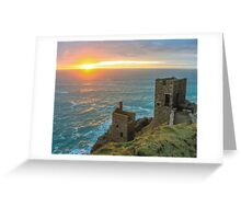 Crown Mines Botallack, Cornwall Greeting Card