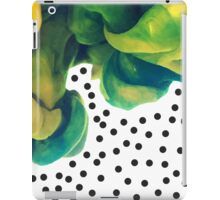 Painting and points iPad Case/Skin