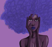 Afro Blu by Demar Douglas