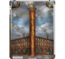 Steampunk - Alphabet - I is for Industry iPad Case/Skin