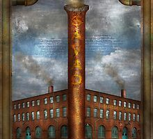 Steampunk - Alphabet - I is for Industry by Mike  Savad