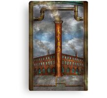 Steampunk - Alphabet - I is for Industry Canvas Print