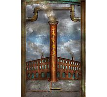 Steampunk - Alphabet - I is for Industry Photographic Print