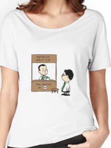 TBBT PEANUTS CHARLIE BROWN Women's Relaxed Fit T-Shirt