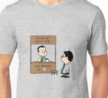 TBBT PEANUTS CHARLIE BROWN Unisex T-Shirt