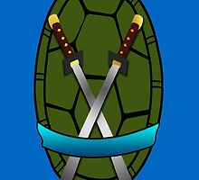 TMNT Leonardo Shell Case by LumpyHippo