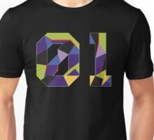 Evangelion Unit 01 Mosaic Unisex T-Shirt