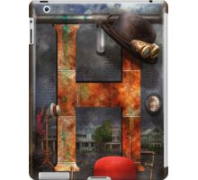 Steampunk - Alphabet - H is for Hats iPad Case/Skin