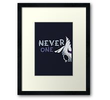 Never One Lamb Kindred (part) Framed Print