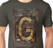 Steampunk - Alphabet - G is for Gears Unisex T-Shirt