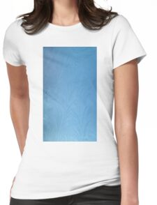 Frost on car windscreen Womens Fitted T-Shirt
