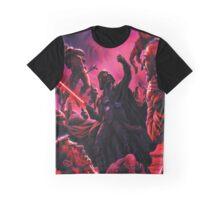 Darth Vader Choking Many Men Graphic T-Shirt