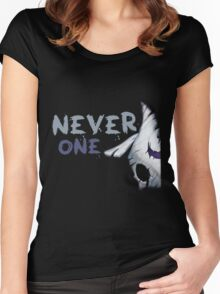 Never One Lamb Kindred (part) Women's Fitted Scoop T-Shirt