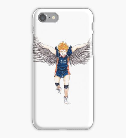 Hinata the Flying Crow iPhone Case/Skin