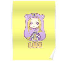 Lux Chibi Poster