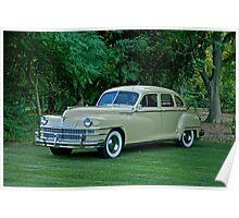 1946 Chrysler Windsor Sedan Poster