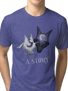 Lamb tell me a story Kindred Tri-blend T-Shirt