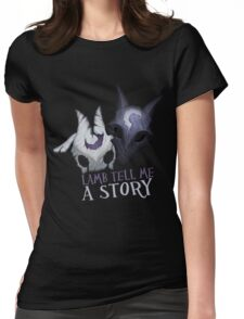 Lamb tell me a story Kindred Womens Fitted T-Shirt