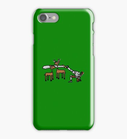 Epic Hunting - Green iPhone Case/Skin