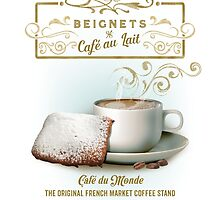 Cafe au Lait and Beignets by midnightboheme