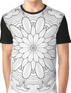 Surfing Mandala T Shirt Graphic T-Shirt