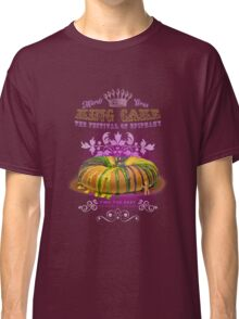 Mardi Gras King Cake Classic T-Shirt