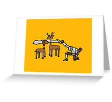 Epic Hunting - Gold Greeting Card