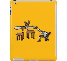 Epic Hunting - Gold iPad Case/Skin