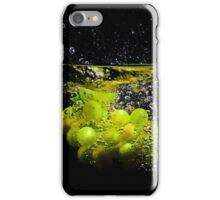 Grape Splash iPhone Case/Skin