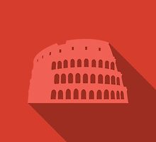 World landmark, Colosseum, Rome, Italy, Europe by BlueLela