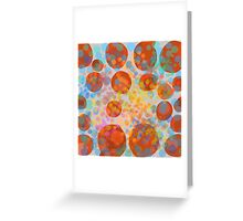 Abstract composition 478 Greeting Card