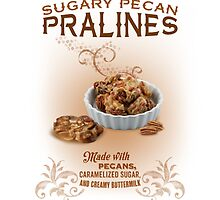Sugary Pecan Pralines by midnightboheme
