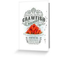 Louisiana Crawfish Greeting Card