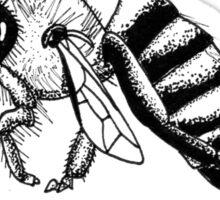 Bees?! Sticker