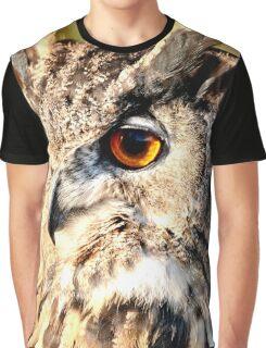 Eurasian Eagle Owl Graphic T-Shirt