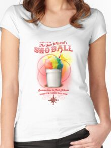 New Orleans SnowBall Women's Fitted Scoop T-Shirt