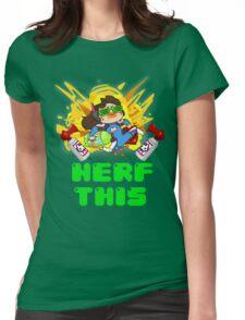 OVERWATCH D VA Womens Fitted T-Shirt