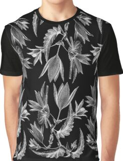 'begonia chelsoni negative' collage Graphic T-Shirt